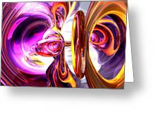 Soundwave Abstract Greeting Card