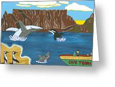 South Africa Cape Town   Oct Greeting Card