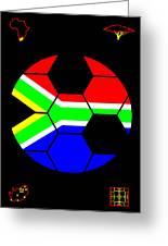 South African Joy V Greeting Card