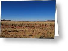 South African Panorama Greeting Card