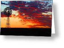 South African Sunrise Greeting Card
