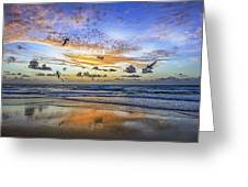 South Beach 12260 Greeting Card