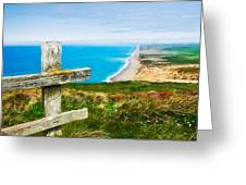 South Beach At Point Reyes Greeting Card