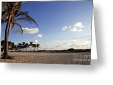 South Beach Miami Greeting Card