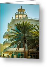 South Beach Vibes Greeting Card