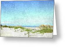 South Carolina Beach Greeting Card