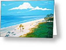 South Carolina Beach Greeting Card
