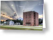 South Carolina Fire Academy Tower Greeting Card