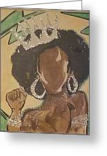 South Carolina Queen Greeting Card