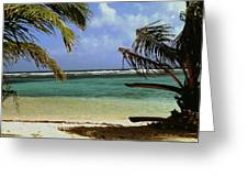 South Caye Belize Greeting Card