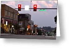 South Center Avenue Greeting Card