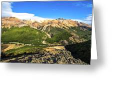 South Chile Patagonia Greeting Card