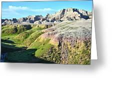 South Dakota's Badlands National Park Greeting Card