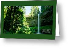 South Falls Landscape Greeting Card