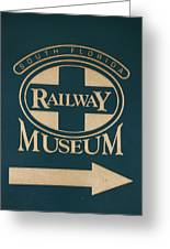 South Florida Railway Museum Greeting Card