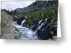 South Fork San Joaquin River Greeting Card
