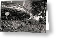 South London Carousel Greeting Card