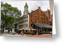 South Market Greeting Card