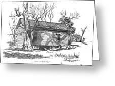 South Of Rutledge Greeting Card