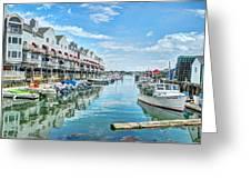South Portland Harbor #2 Greeting Card