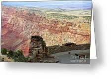 South Rim Grand Canyon  Greeting Card
