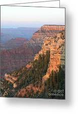 South Rim Sunset Greeting Card