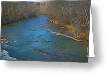 South River Greeting Card