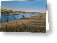 South Saskatchewan River Greeting Card