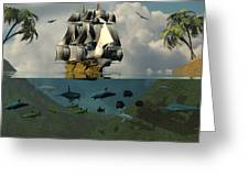 South Sea Adventure Greeting Card