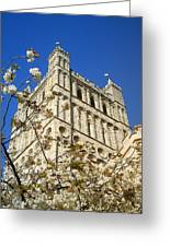 South Tower Exeter Cathedral Greeting Card