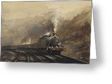 South Wales Coal Train Greeting Card