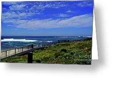South West Coastline Greeting Card