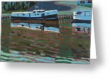 Southampton And Scubbys Bluff Fishing Fleet Greeting Card