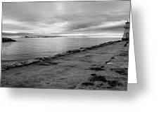 Southampton Lighthouse Greeting Card