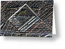 Southbank London Abstract Greeting Card