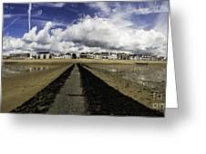 Southend On Sea Panorama Greeting Card