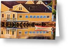 Southend Yacht Club Greeting Card