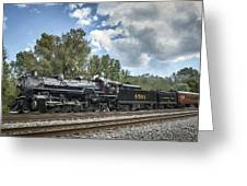 Southern 4501 At Railfest 2015 - 3 Greeting Card