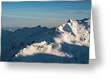 Southern Alps Greeting Card