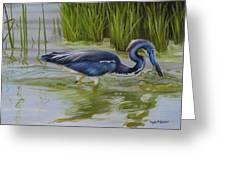 Southern Blues Greeting Card