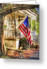 Southern Charm Greeting Card