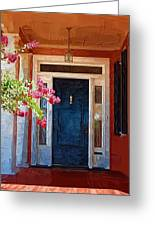 Southern Door Greeting Card