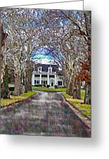 Southern Gothic Greeting Card