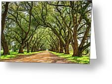 Southern Lane 5 Greeting Card