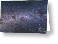 Southern Milky Way From Vela Greeting Card