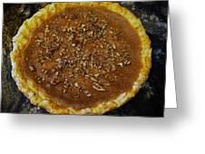 Southern Pecan Pie Greeting Card