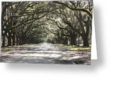 Southern Road Greeting Card