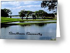 Southern Serenity Greeting Card