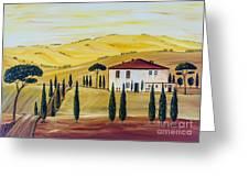 Southern Tuscany Greeting Card