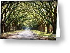 Southern Way Greeting Card